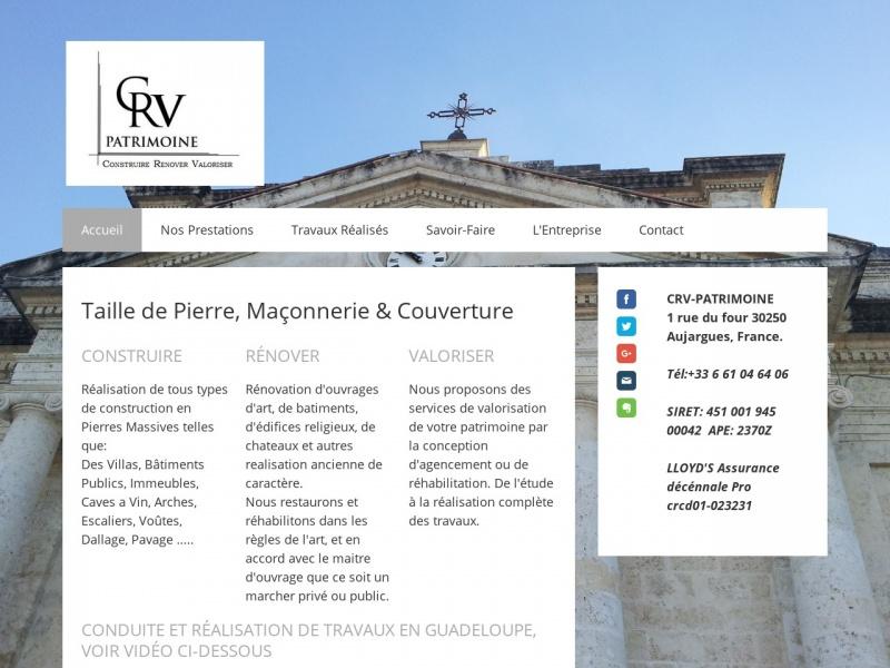 CRV Patrimoine - Lecques