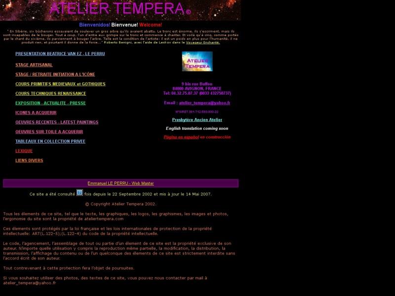 Atelier Tempera - Béatrice Van Ez le Perru - Pont Aven