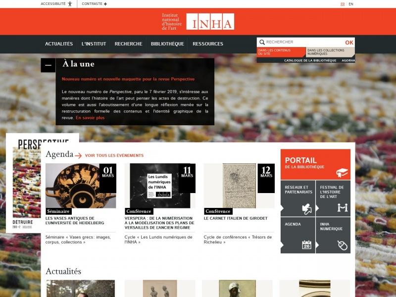Institut National d'Histoire de l'Art - Paris 2e