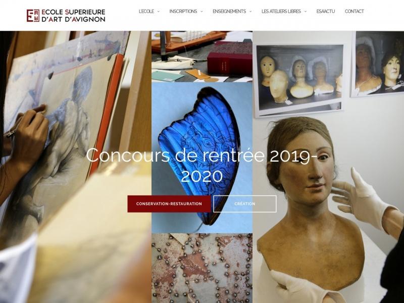 ESAA - Ecole Supérieure d'Art d'Avignon - Avignon