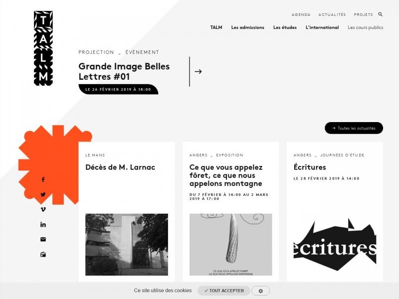 Ecole Supérieure des Beaux-Arts de Tours - esad-talm.fr