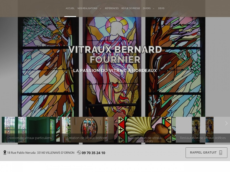 Atelier Bernard Fournier - Villenave d'Ornon