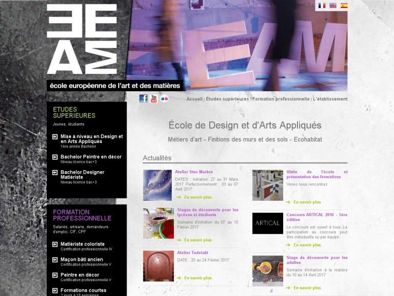 Ecole Européenne de l'Art et des Matières - Albi