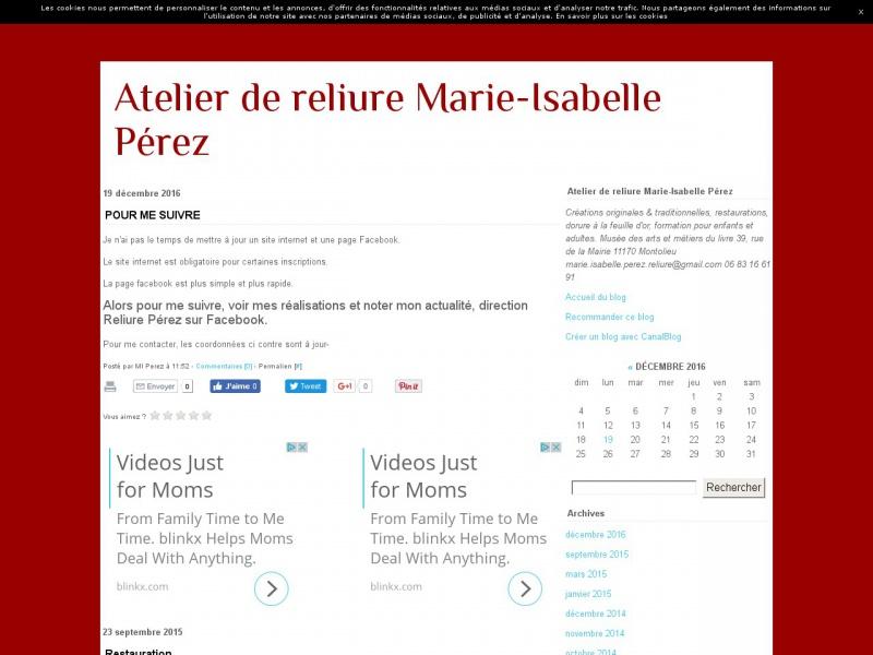 Marie-Isabelle Perez - Montolieu
