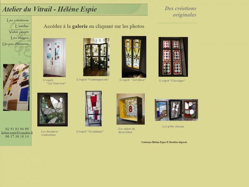 L'Atelier du Vitrail - Hélène Espie - Nantes
