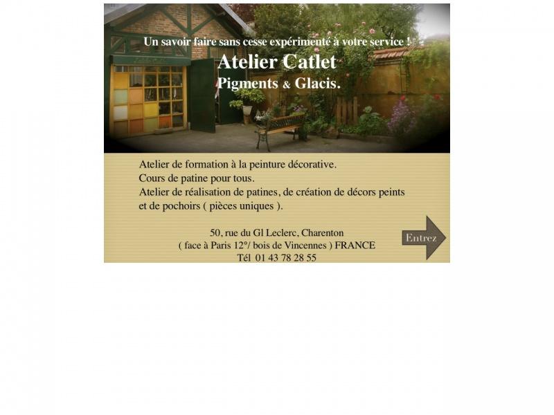 Atelier Catlet - Charenton le Pont