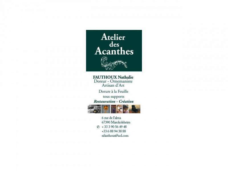Atelier des Acanthes - Marcklosheim
