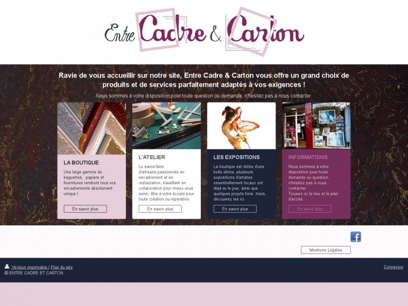 Entre Cadre et Carton - Soisy sous Montmorency