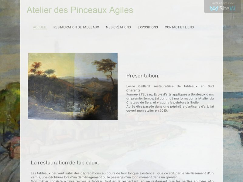 Atelier des Pinceaux Agiles - Leslie Gaillard - Montmerac
