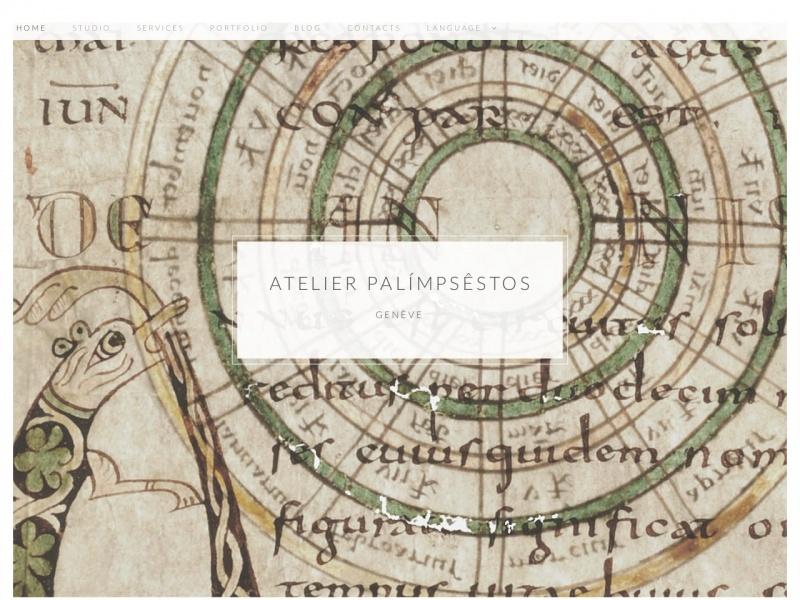 Atelier Palímpsêstos - Genève