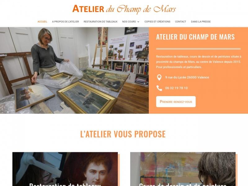 Atelier du Champ de Mars - Marie-Anne Boursier - Valence