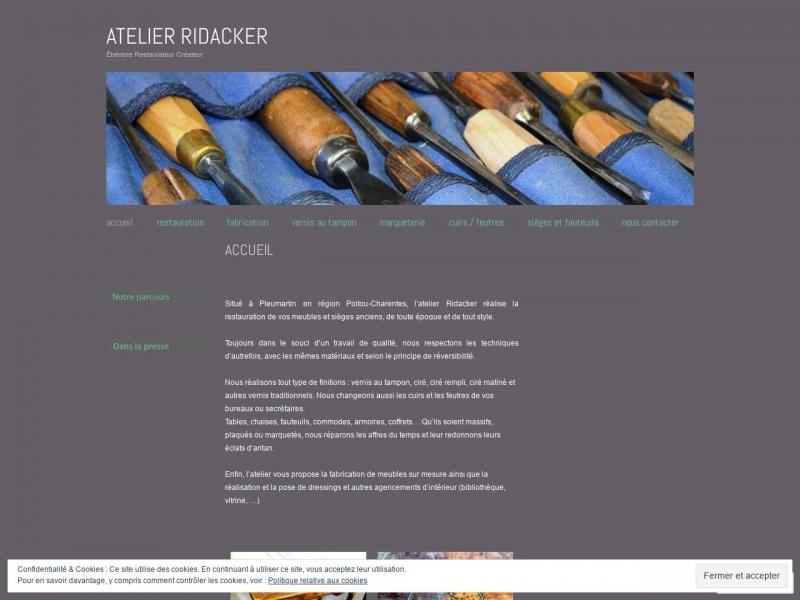 Atelier Ridacker - Pleumartin