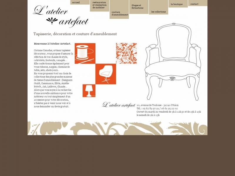 L'Atelier Artefact - Corinne Canadas - L'Union