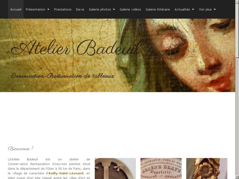 Atelier Badeuil - Avilly Saint Léonard