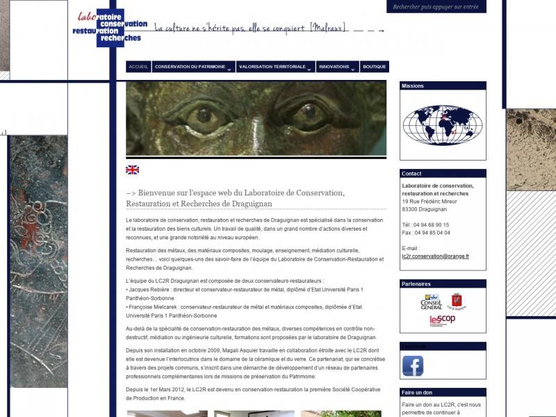 LC2R - Laboration de Conservation Restauration et Recherche - Draguignan