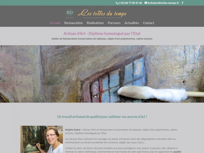 Les Toiles du Temps - Brigitte Dubar - Camphin en Pévèle