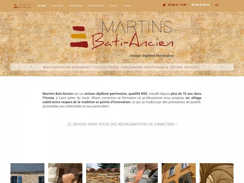 Martins Bati-Ancien - Saint Julien du Sault