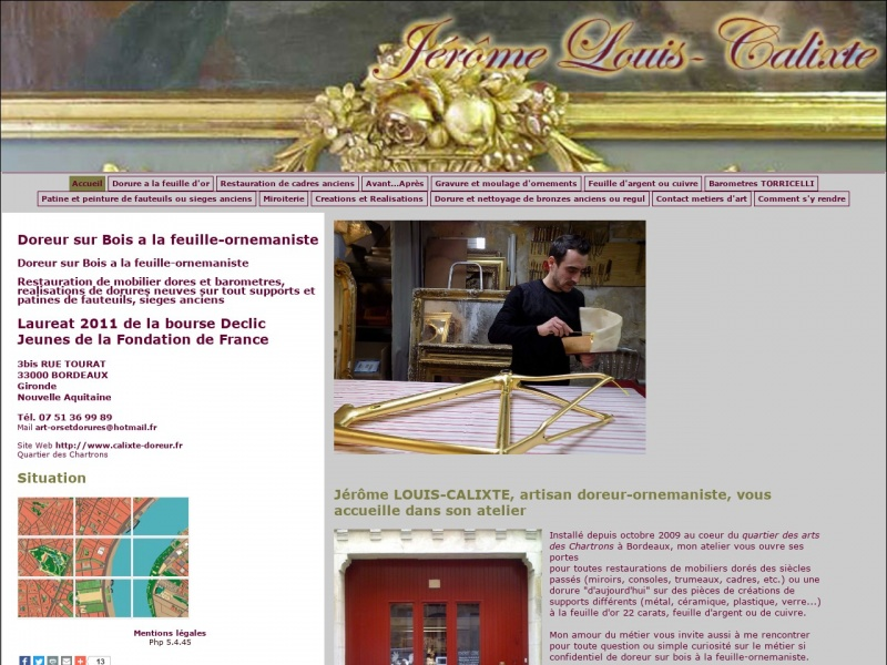 Jérôme Louis-Calixte - Bordeaux