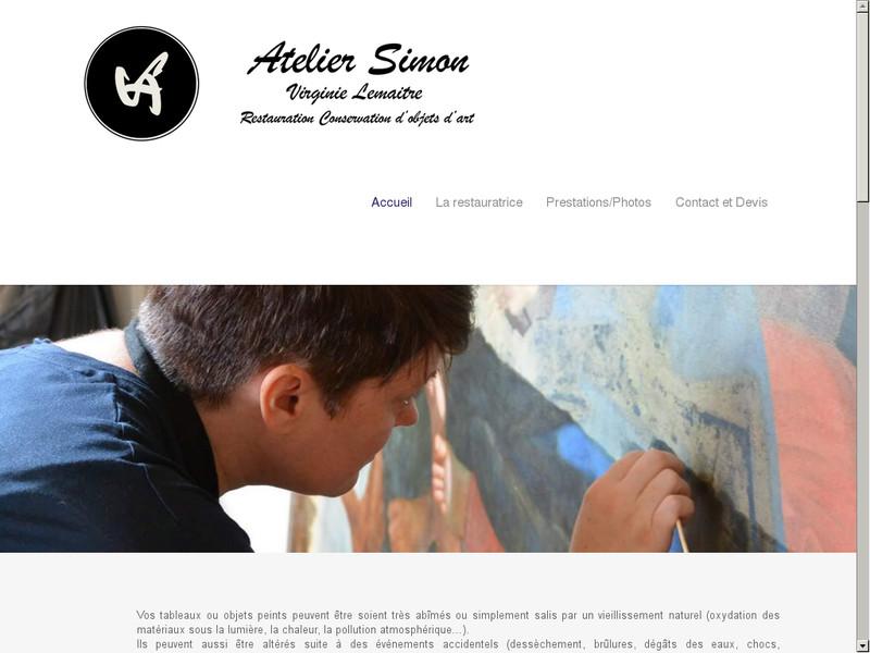 Atelier Simon - Virginie Lemaitre - Les Pavillons sous Bois