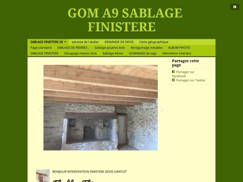 A9 Sablage - Thierry Flochlay - Pont Labbé