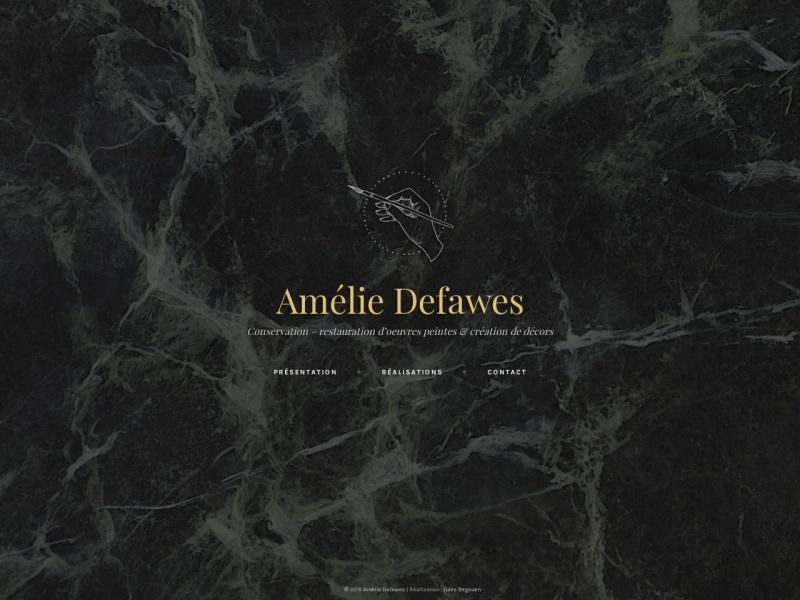 Amelie Defawes - Montpellier