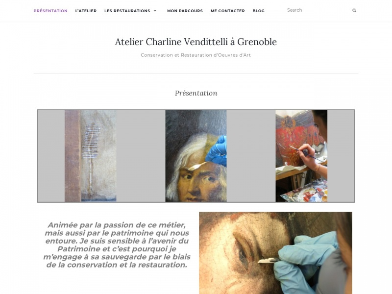 Atelier Charline Vendittelli - Grenoble