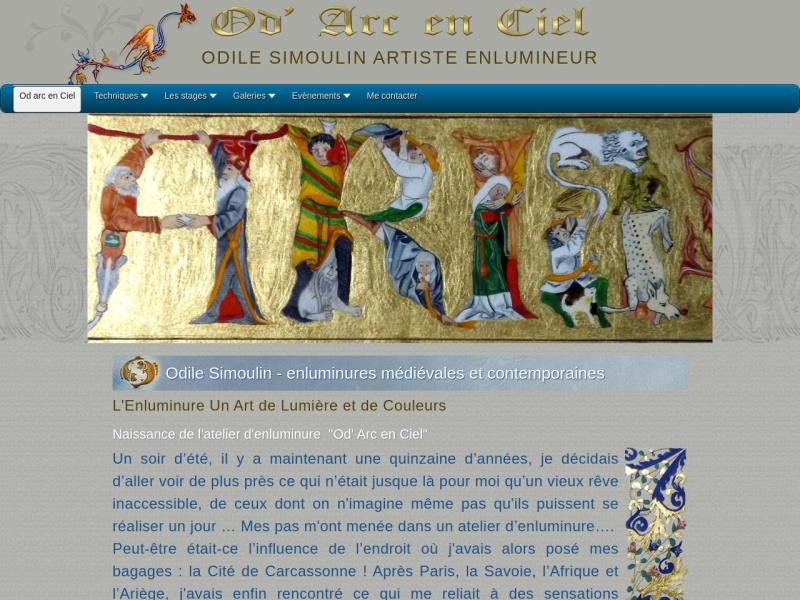 Od'Arc en Ciel - Odile Simoulin - Lavalette
