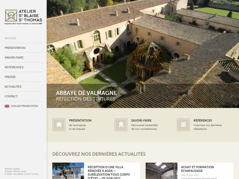 Atelier Saint Blaise et Saint Thomas - Fabrègues