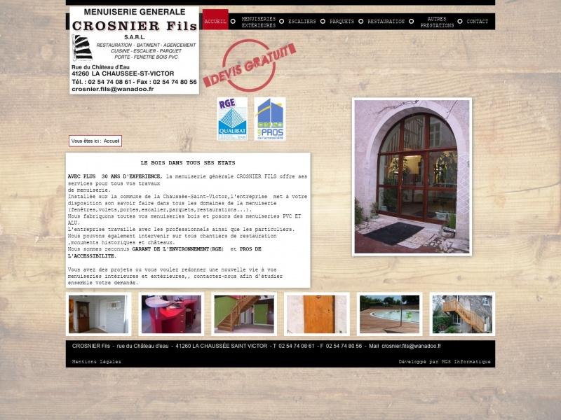 Crosnier Fils - La Chaussée Saint Victor