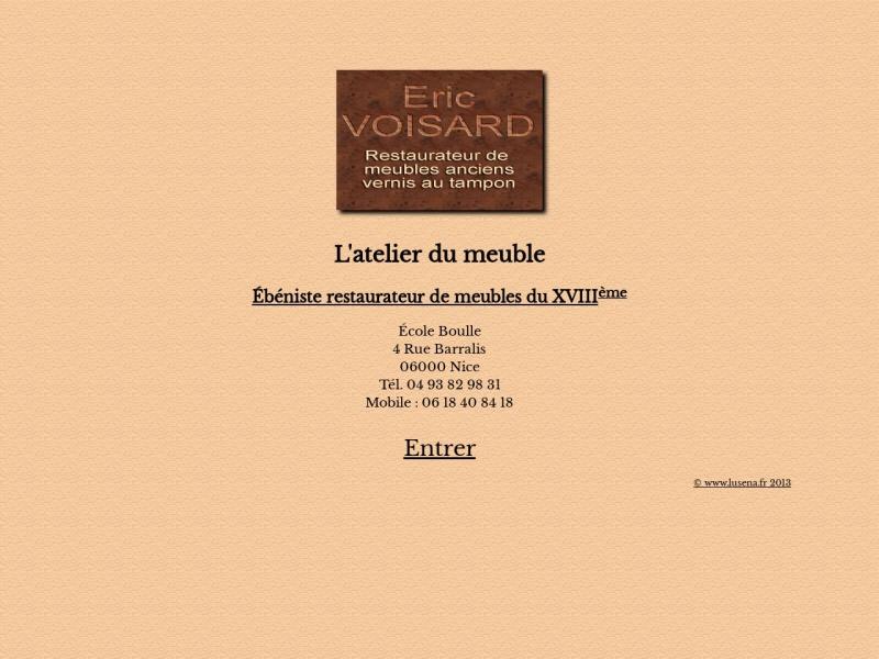 L'Atelier du Meuble - Eric Voisard - Nice