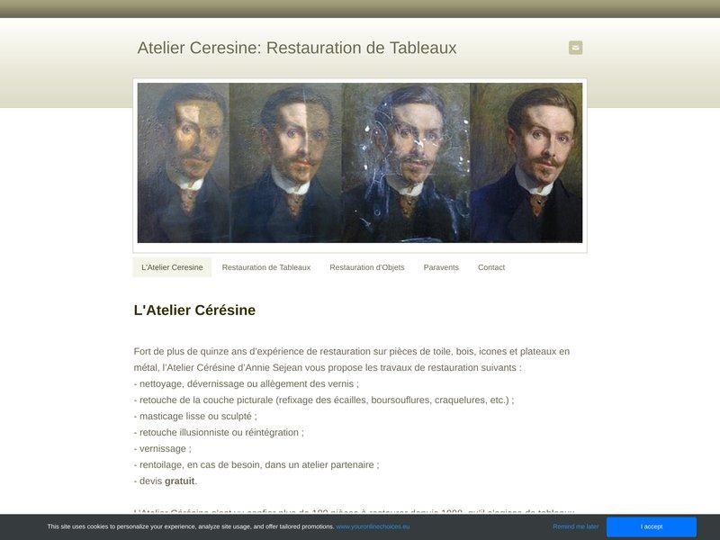 Atelier Ceresine - Annie Sejean - Reims