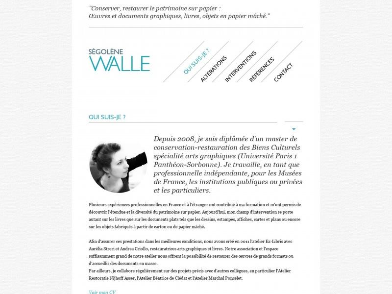 Ségolène Walle - Atelier Ex-Libris - Villejuif
