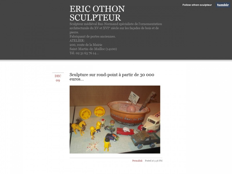 Eric Othon - Saint Martin de Mailloc