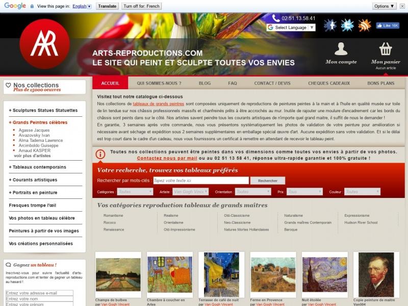 Arts Reproductions - Nantes