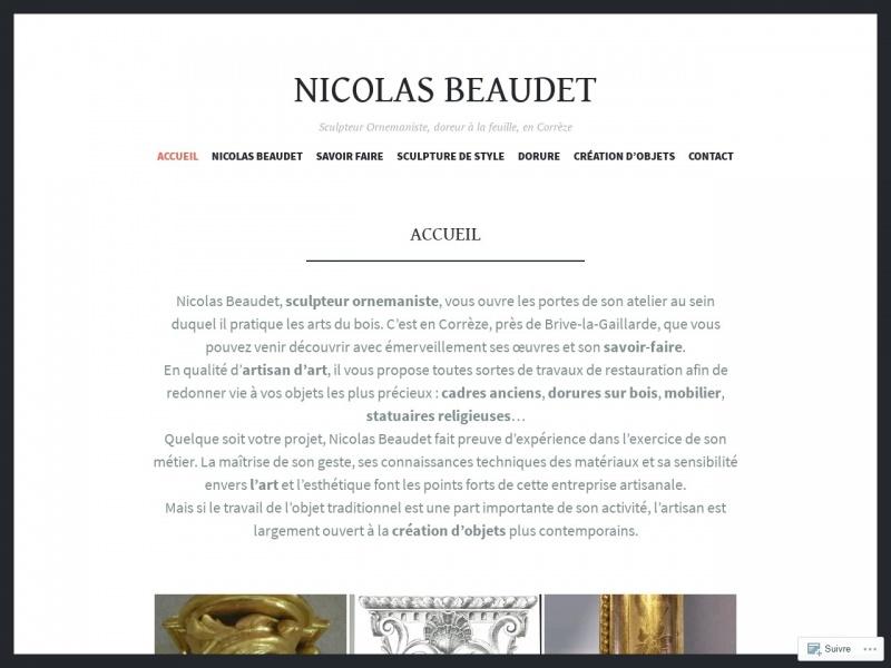 Nicolas Beaudet - Saint Pantaléon de Larche