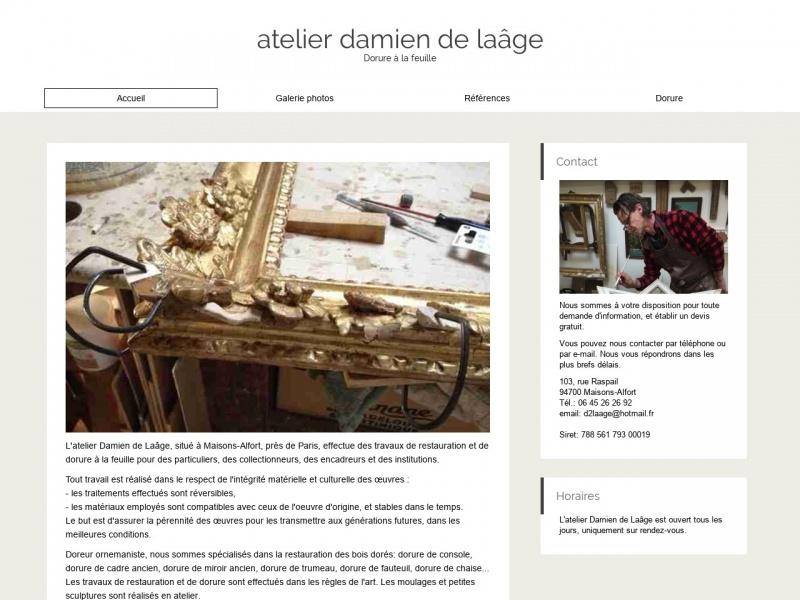 Atelier Damien de Laâge - Maisons Alfort