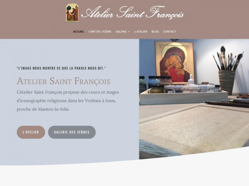 Atelier Saint François - Sandrine Collet - Issou