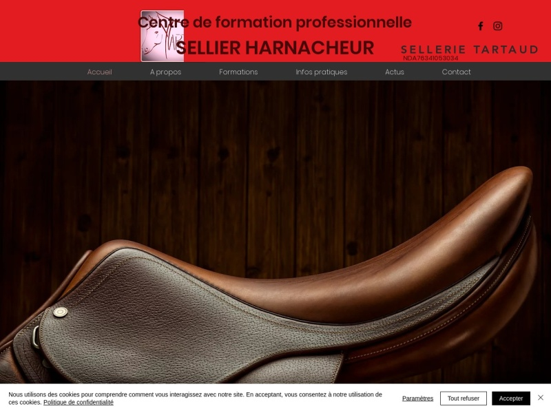 Sellerie Tartaud - Donzy le Pertuis