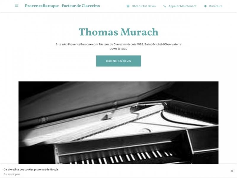 Thomas Murach - Saint Michel l'Observatoire