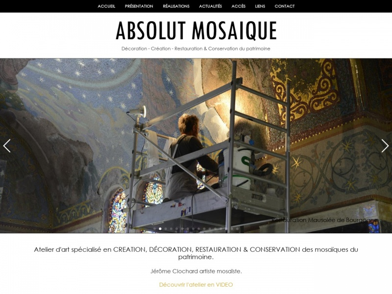 Jerome Clochard - Absolut Mosaïque - Fouras