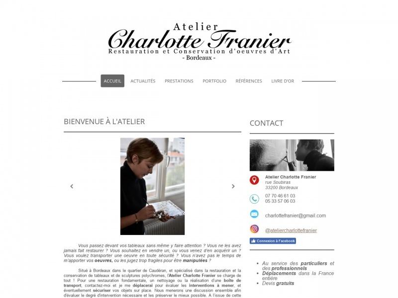 Charlotte Franier - Bordeaux