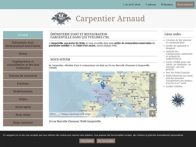 Arnaud Carpentier - Gargenville