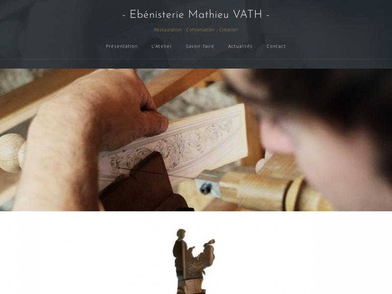 Mathieu Vath - ebenisterie-mathieuvath.fr