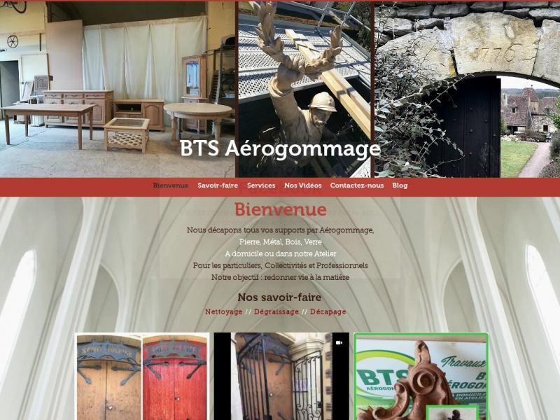 BTS Aérogommage - Gron