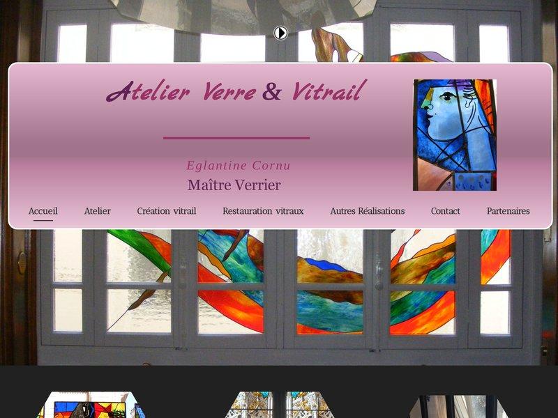 Atelier Verre et Vitrail - Eglantine Cornu - Ancone