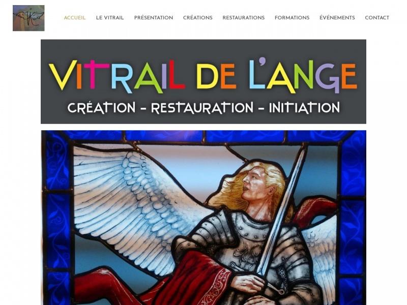 Vitrail de l'Ange - Michel Pradeilles - Marseille 5e