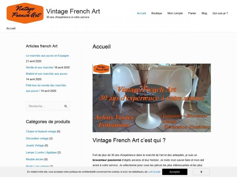 Vintage French Art - Vielmur sur Agout