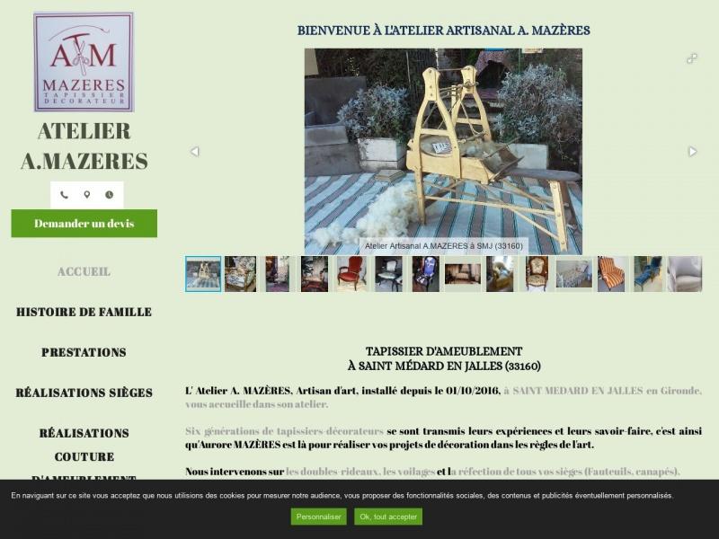 Atelier Aurore Mazères - Saint Medard en Jalles