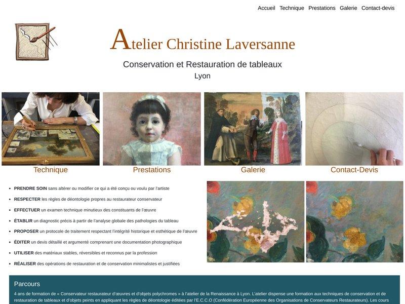 Atelier Christine Laversanne - Lyon 7eme