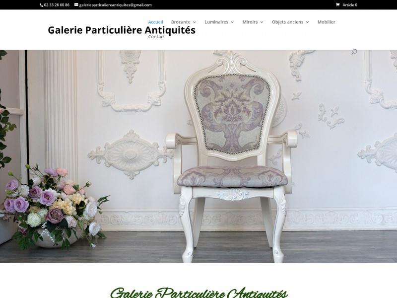 Galerie Particulière Antiquités - Sylvie Laumaille Gossin - Heloup